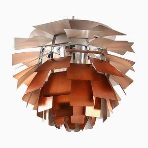 Lampe Artichaut en Cuivre par Poul Henningsen pour Louis Poulsen, 1958