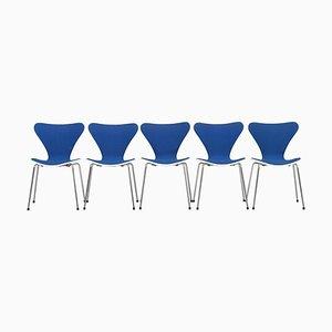 Butterfly Stühle von Arne Jacobsen für Fritz Hansen, Dänemark, 1979, 5er Set