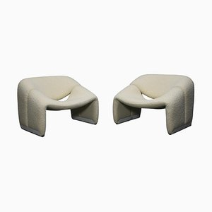 F598 Groovy Chairs by Pierre Paulin for Artifort, Netherlands, 1972, Set of 2