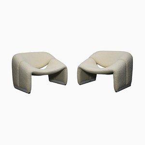 F598 Groovy Chairs von Pierre Paulin für Artifort, Niederlande, 1972, 2er Set