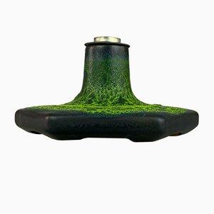 Mid-Century Space Age Wandlampe aus Keramik