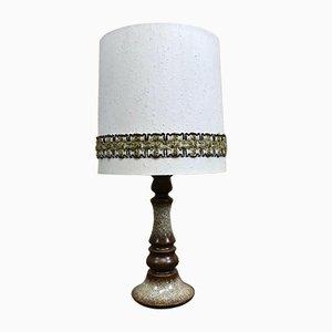 Mid-Century Space Age Table Lamp in Ceramic