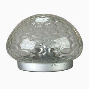 Mid-Century Space Age Einbaulampe aus Glas, 1960er