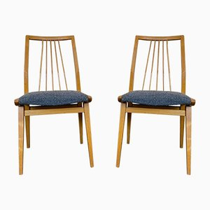 Mid-Century Danish Dining Chairs from Casala, Set of 2