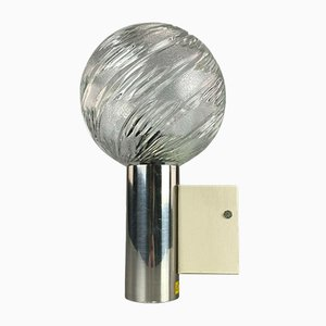 Mid-Century Space Age Globe Wall Lamp
