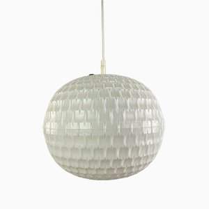 Mid-Century Space Age Plastic Honeycomb Ceiling Lamp from Erco