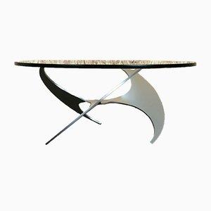 Propeller Coffee Table in Aluminium by Knut Hesterberg & Ronald Schmitt, 1960s