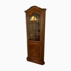 Corner Display Cabinet in Solid Wood