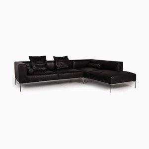 Canapé d'Angle en Cuir Marron Foncé par Jaan Living pour Walter Knoll / Wilhelm Knoll