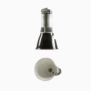 Lampe à Suspension Vintage Noire et Grise