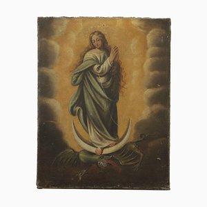 Immaculée Conception, Huile sur Toile