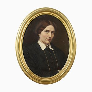 Female Portrait, Oil on Canvas