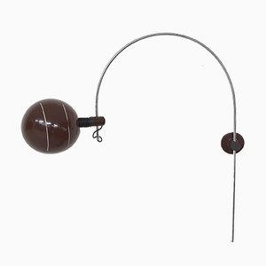 Large Arc Wall Light from Raak, The Netherlands, 1950s
