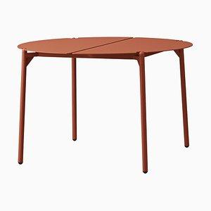 Grande Table de Salon Minimaliste en Pain d'Épice