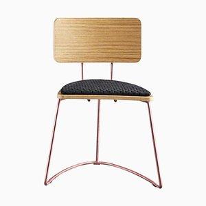 Black Boomerang Chair by Cardeoli