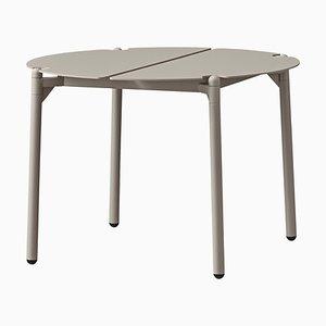 Kleiner Taupe Minimalistischer Lounge Tisch