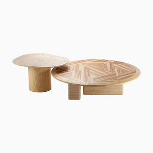 L'anamour Center and Side Table by Dooq, Set of 2