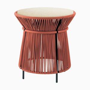 Caribe High Table mit Marmorplatte von Sebastian Herkner