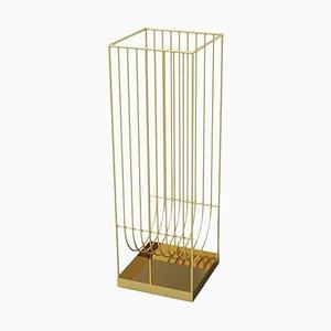 Gold Contemporary Umbrella Stand