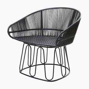 Circo Leather Lounge Chair by Sebastian Herkner