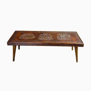 Table Basse Mid-Century par Angel Pazmiño, Equateur