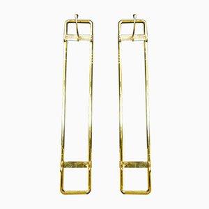 Vintage Brass Hang Coat Racks