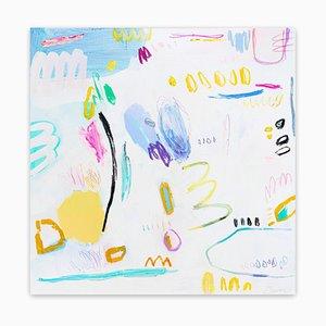 Sweet Little Lies, Abstraktes Gemälde, 2020