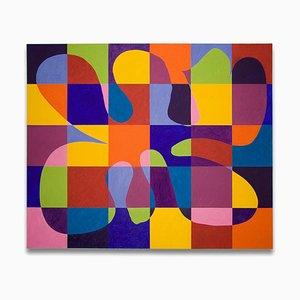 Pulse, Abstraktes Gemälde, 2010