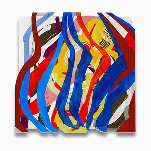 Jazz Cubano 23: Arturo and Elio, Thinking Out Loud, Abstract Painting, 2014