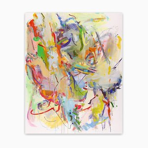 Restraint, Abstraktes Gemälde des Expressionismus, 2014