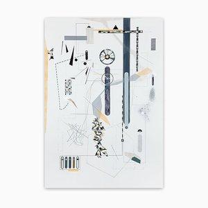 Clineld, Peinture Abstraite, 2017