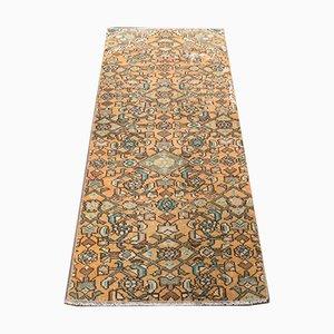 Turkish Vintage Oushak Small Carpet