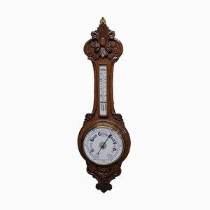 Eichenholz Banjo Aneroid Barometer
