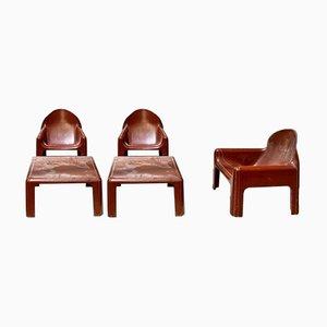 Lounge Set von Kartell, 1970er, 5er Set