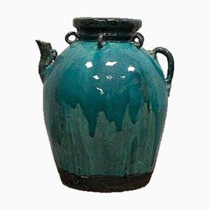 Pot Émaillé Turquoise