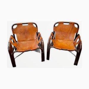 Chaises par Tito Agnoli, 1960s, Set de 2