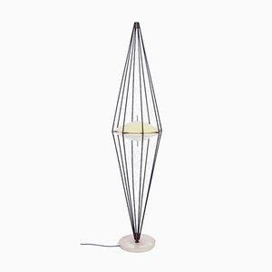 Modell Siluro 12628 Stehlampe von Angelo Lelli für Arredoluce, Italien, 1957