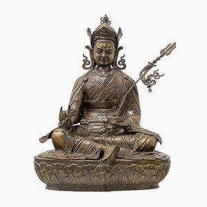 Sitzender Buddha aus Bronze, frühes 20. Jh