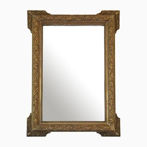 Gilt Overmantle Wall Mirror, 19th Century