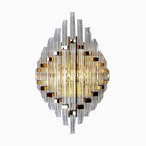 Große Wandlampe von Paolo Venini für Venini, Italien, 1970er