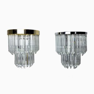 Sconces by Paolo Venini for Venini, Italy, 1970s, Set of 2