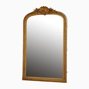 Grand Miroir Doré 19ème Siècle