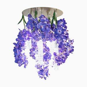 Großer runder Flower Power Vanda Kronleuchter von Vgnewtrend, Italien