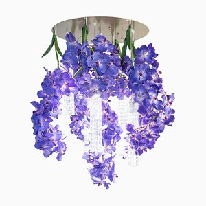 Large Round Flower Power Vanda Chandelier from Vgnewtrend, Italy
