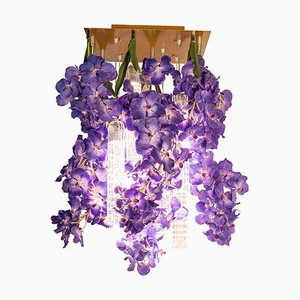 Flower Power Vanda Square Chandelier from Vgnewtrend, Italy