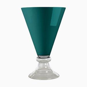 Tazza New Romantic Green Lagoon in vetro di Vgnewtrend