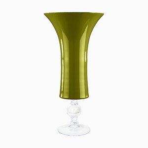 Taza Laura grande de vidrio verde manzana de Vgnewtrend