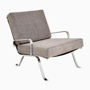 Vintage Chrome Armchair, 1960s