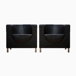 Swedish Berliner Armchairs, Set of 2