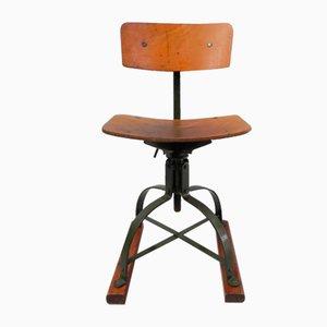Bienaise Industrial Stool Chair